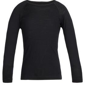 Icebreaker 200 Oasis LS Crewe Shirt Kids black